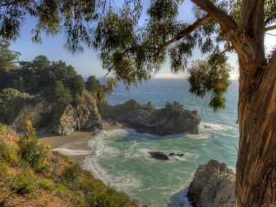 Mcway Falls at Julia Pfeiffer Burns State Park on the Big Sur Coast of California