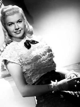 "Doris Day. ""It's Magic"" 1948, ""Romance On the High Seas"" Directed by Michael Curtiz"