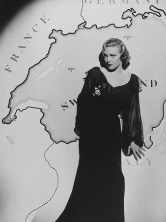 Madeleine Carroll, Secret Agent, 1936