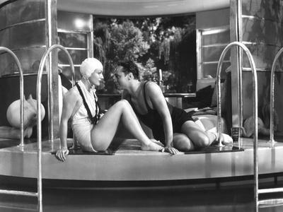 Franchot Tone, Joan Crawford, Dancing Lady, 1933