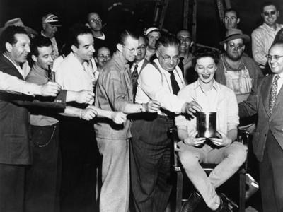 Karl Freund, Katharine Hepburn, Vincente Minnelli, Undercurrent, 1946