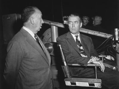 James Stewart, Alfred Hitchcock, The Man Who Knew Too Much, 1956