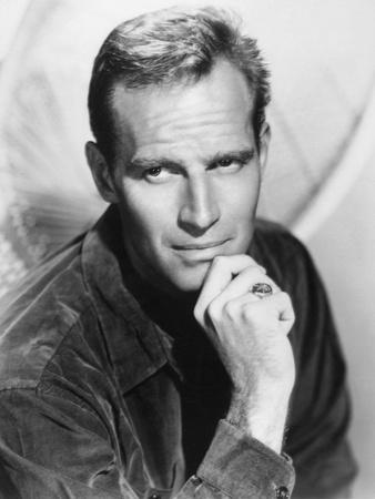 Charlton Heston, 1962