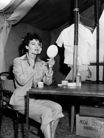 """Ava Gardner. """"Mogambo"""" 1953, Directed by John Ford"""