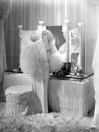 """Jean Harlow. """"Dinner At Eight"""" 1933, Directed by George Cukor"""