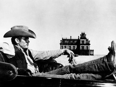 """James Dean. """"Giant"""" 1956, Directed by George Stevens"""