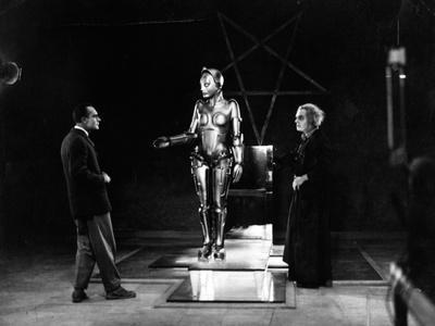 """R. Klein Rogge. """"Metropolis"""" 1927, Directed by Fritz Lang"""