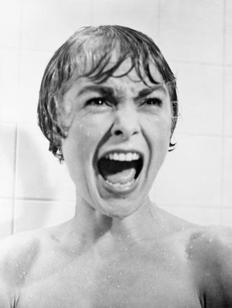 """Janet Leigh. 1960 """"Psycho"""" Directed by Alfred Hitchcock"""