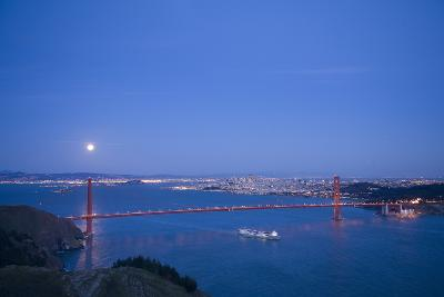 Scenic of Golden Gate Bridge, Golden Gate National Recreation Area, San Francisco, California