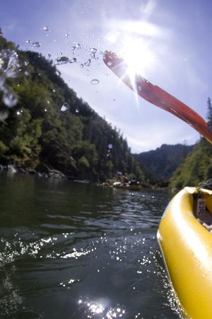 White Water Rafting Along the Wild and Scenic Rogue River in Southern Oregon