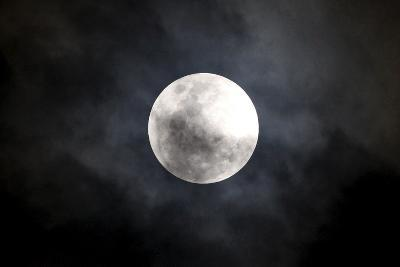View of the Moon as it Enters its First Penumbral Eclipse Seen from Manila