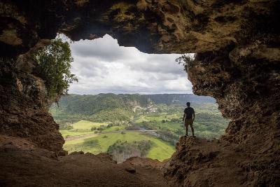 The Rio Grande De Arecibo Valley from Cueva Ventana Atop a Limestone Cliff in Arecibo, Puerto Rico