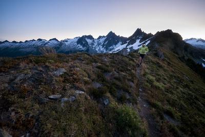 Trail Running in the North Cascades, Washington