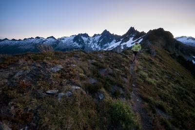 Trail Running in the North Cascades, Washington