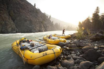 Whitewater Rafting on the Chilko River. British Columbia, Canada