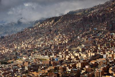 The Sky-High Capital City of La Paz, Bolivia Lies in a Deep Canyon Below the Andes Mountains