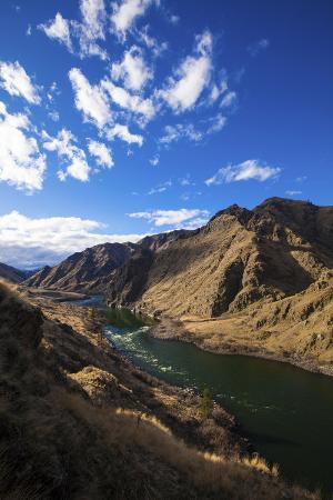 The Massive Hells Canyon on the Idaho-Oregon Border