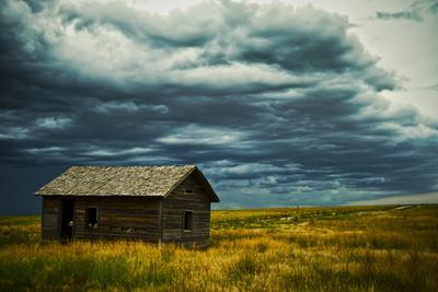 An Abandoned Building in Pawnee National Grasslands Near Fort Collins, Colorado