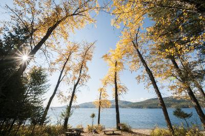 Les Mason State Park Along Whitefish Lake, Montana