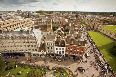 Aerial View of Cambridge, England