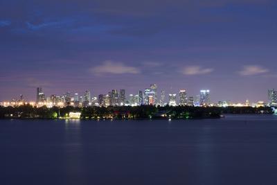Miami , Florida: Downtown Miami at Night
