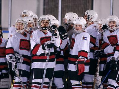 Childrens Ice Hockey Team