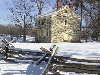 General Washington's Headquarters at Valley Forge during Winter Encampment, Pennsylvania