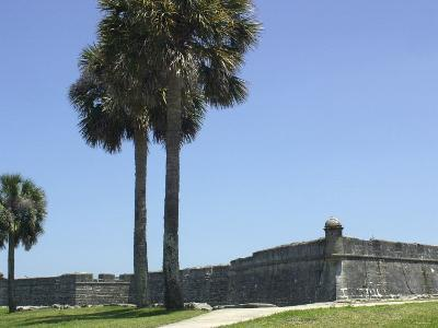 Castillo San Marcos, Spanish Colonial Fort in Saint Augustine, Florida