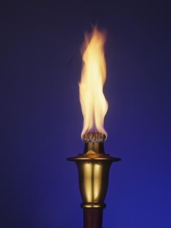Ceremonial Olympic Style Torch