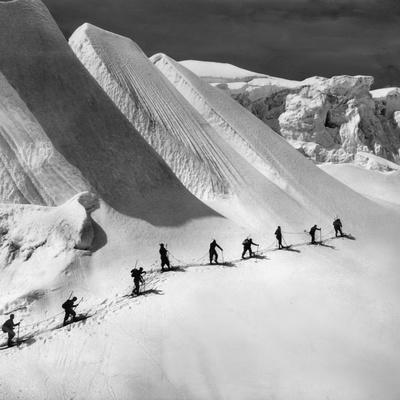 Glacier Tour on Piz Bernina
