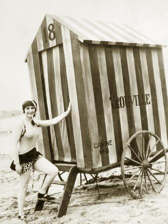 Bathing Hut in the Usa, 1925