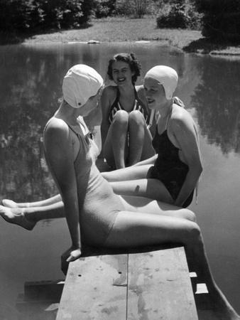 Women at a Lake, 1938