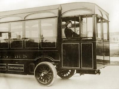 Bus Driver in London, 1913
