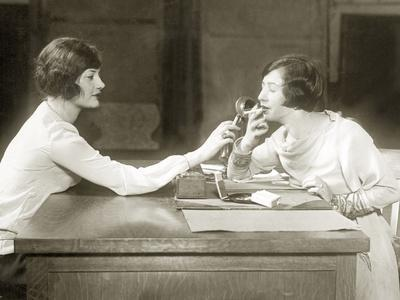 Smokers in the Administrative Offices of the U.S. Navy, 1927