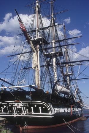 "USS Constitution ""Old Ironsides"" Docked in Boston"