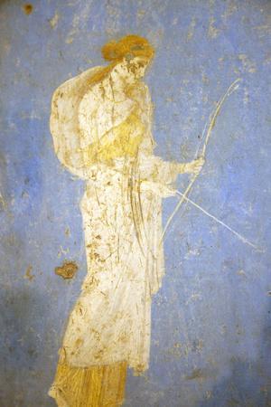 Italy, Naples, Naples Museum, from Stabia, Villa of Varanus or Ariadne (Bedroom), Diana (Artemis)