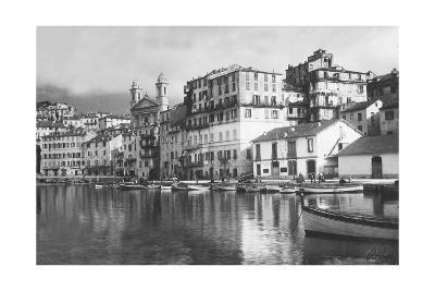 Hafen von Bastia auf Korsika, 1929