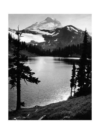 Chain Lake und Mount Baker, 1931