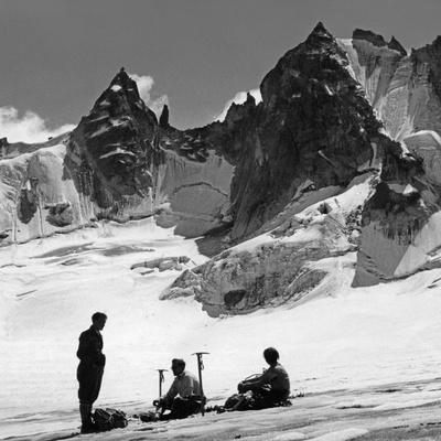 Alpinists in Switzerland, 1939