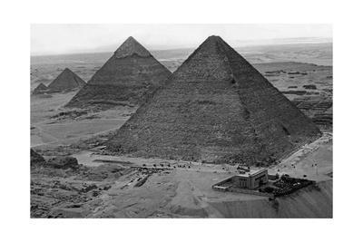 Ägyptische Pyramiden, 1930er Jahre