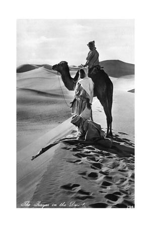 Gebet in der Wüste, 1935