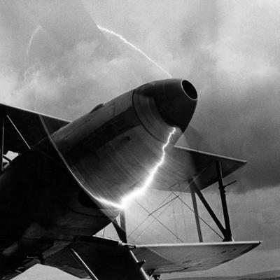 Doubledecker on the Airfield of Berlin-Adlershof, 1940