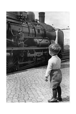 Dampflokomotive in Deuschland, 1936