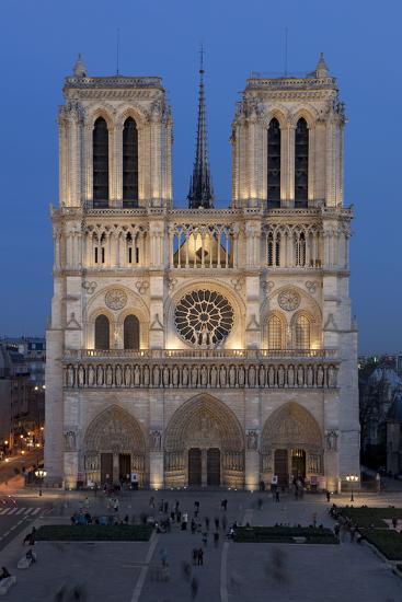 Cath 233 Drale Notre Dame De Paris La Fa 231 Ade Occidentale