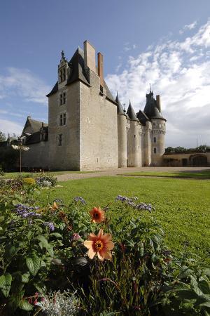 Château de Fougères-sur-Bièvre, aile nord, façade nord