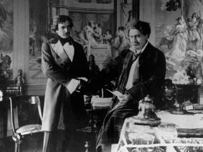 Romuald Joubé and Henry Krauss: Les Frères Corses, 1916