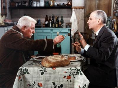 Louis de Funès and Jean Gabin: Le Tatoué, 1968