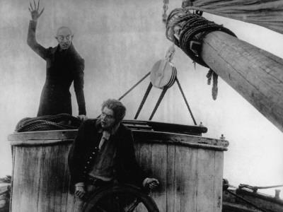 Max Schreck and Max Nemetz: Nosferatu, Eine Symphonie Des Grauens, 1922