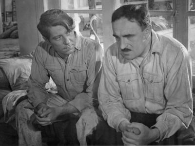 Jean Gabin and Charles Vanel: La Belle Équipe, 1936