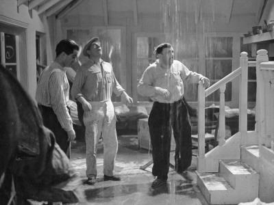 Jean Gabin, Charles Vanel and Raphael Medina: La Belle Équipe, 1936